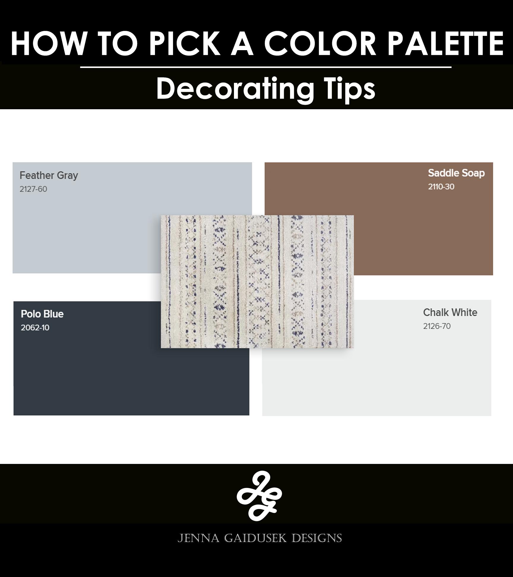 How To Choose Paint Colors That Go Together Jenna Gaidusek Designs