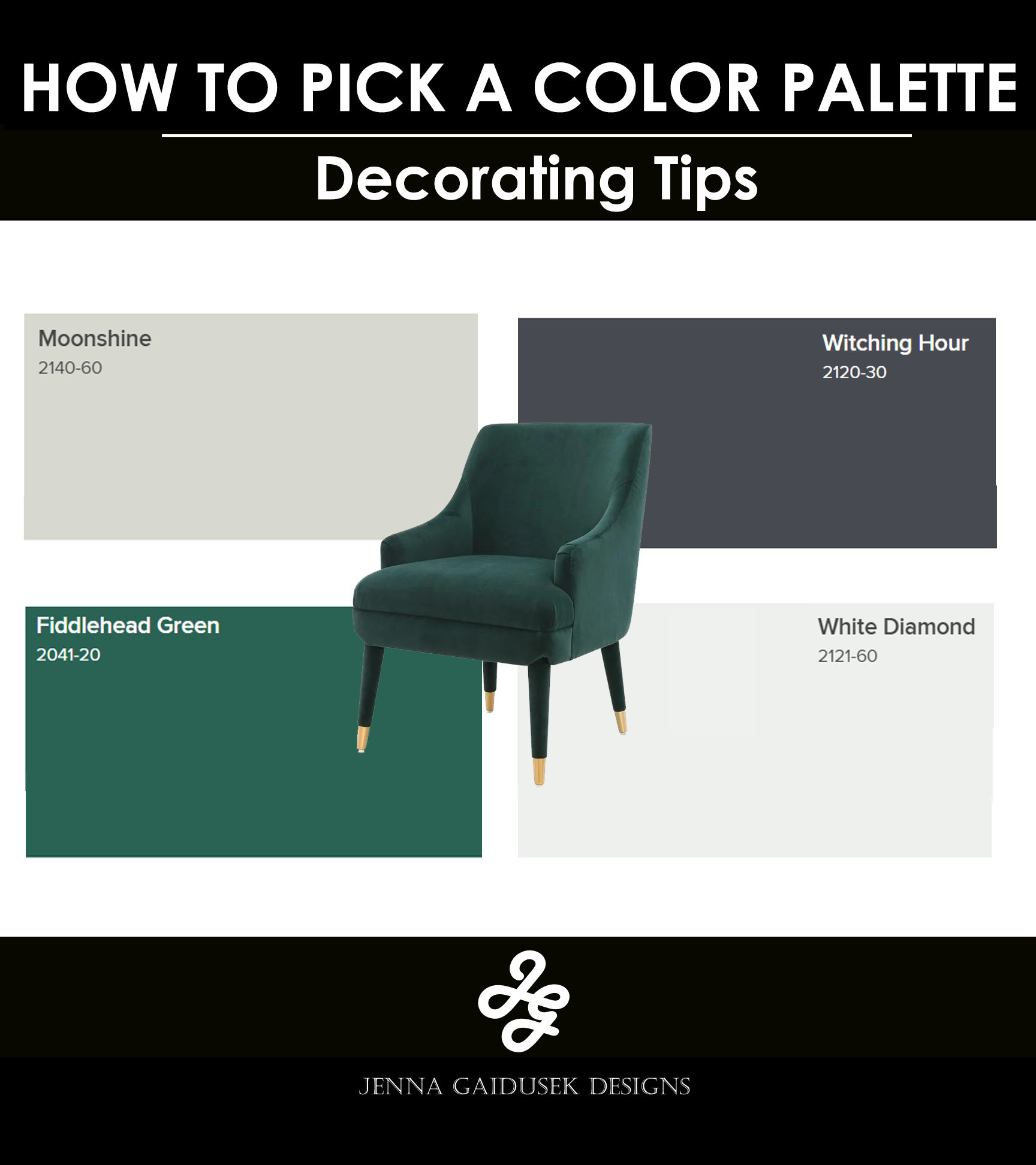 How To Choose Paint Colors That Go Together Jenna Gaidusek