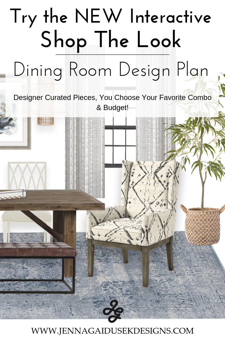 Interactive shop the look dining room board.  Get your custom curated designer inspired dining room just in time for the holidays. Weather your style is coastal, farmhouse, contemporary boho or more you can design your own dining room space. Get dining room ideas that are designer inspired.  farmhouse style, decorate,  designer tips, #coastalfurniture #diningroomfurniture #interiordesign #newhouse #transitionaldecor #familyfriendly