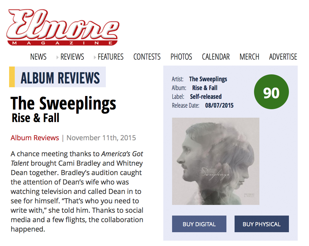 Elmore Review - Elmore review of album
