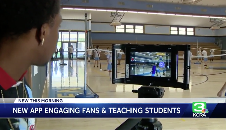 Watch the story on KCRA Channel 3 - See how Center users Fantag for all their sports
