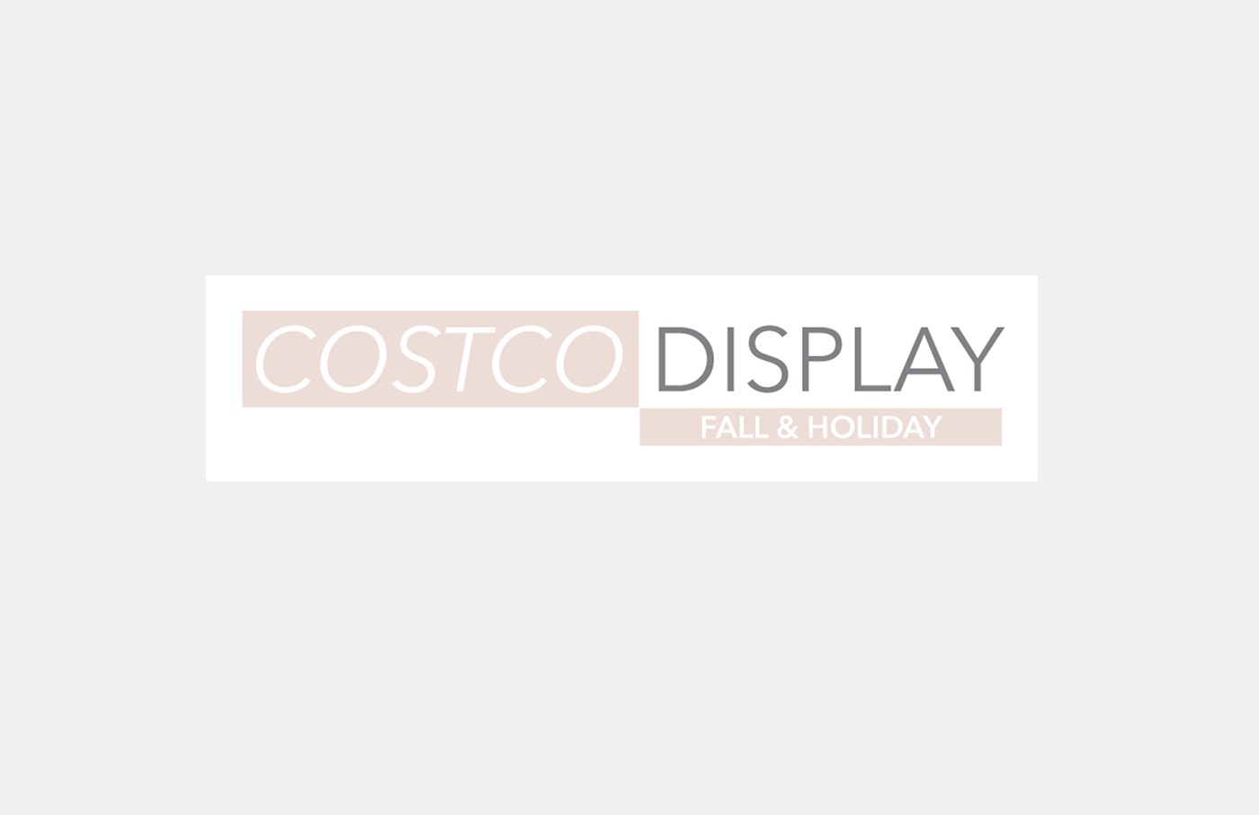 Holiday Display - Art Direction