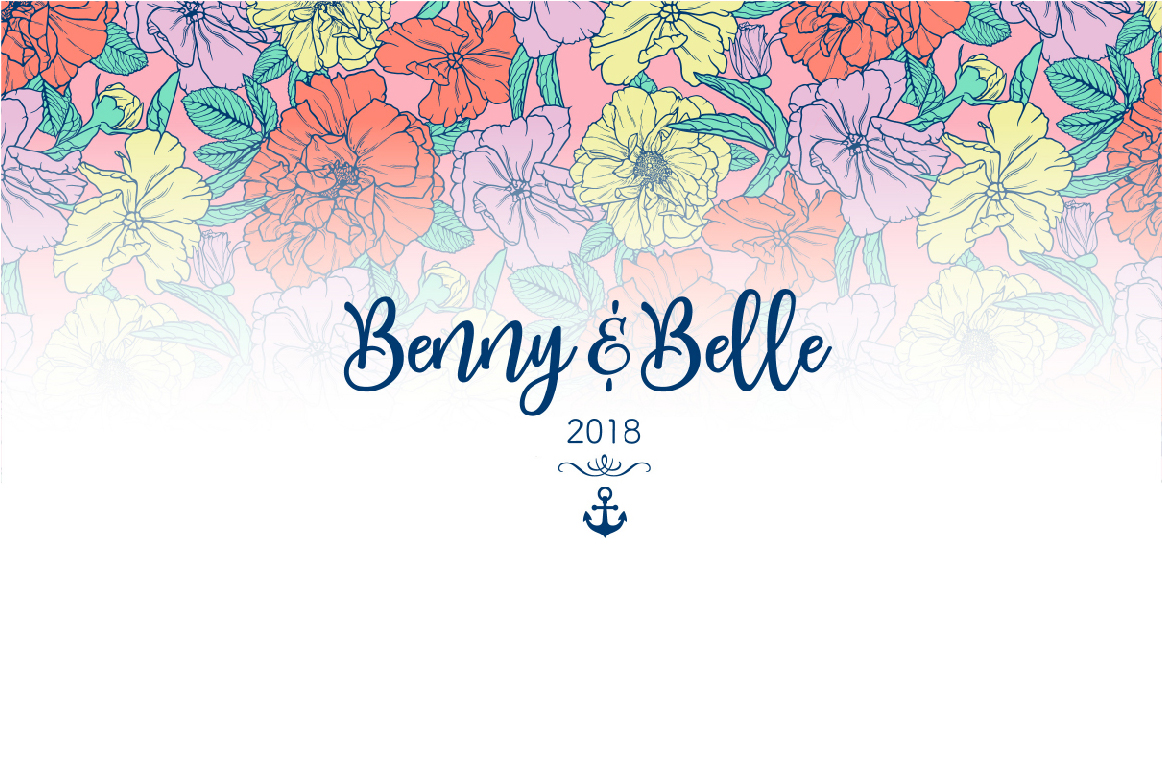 Benny & Belle Presentation - Art Direction/Brand Design