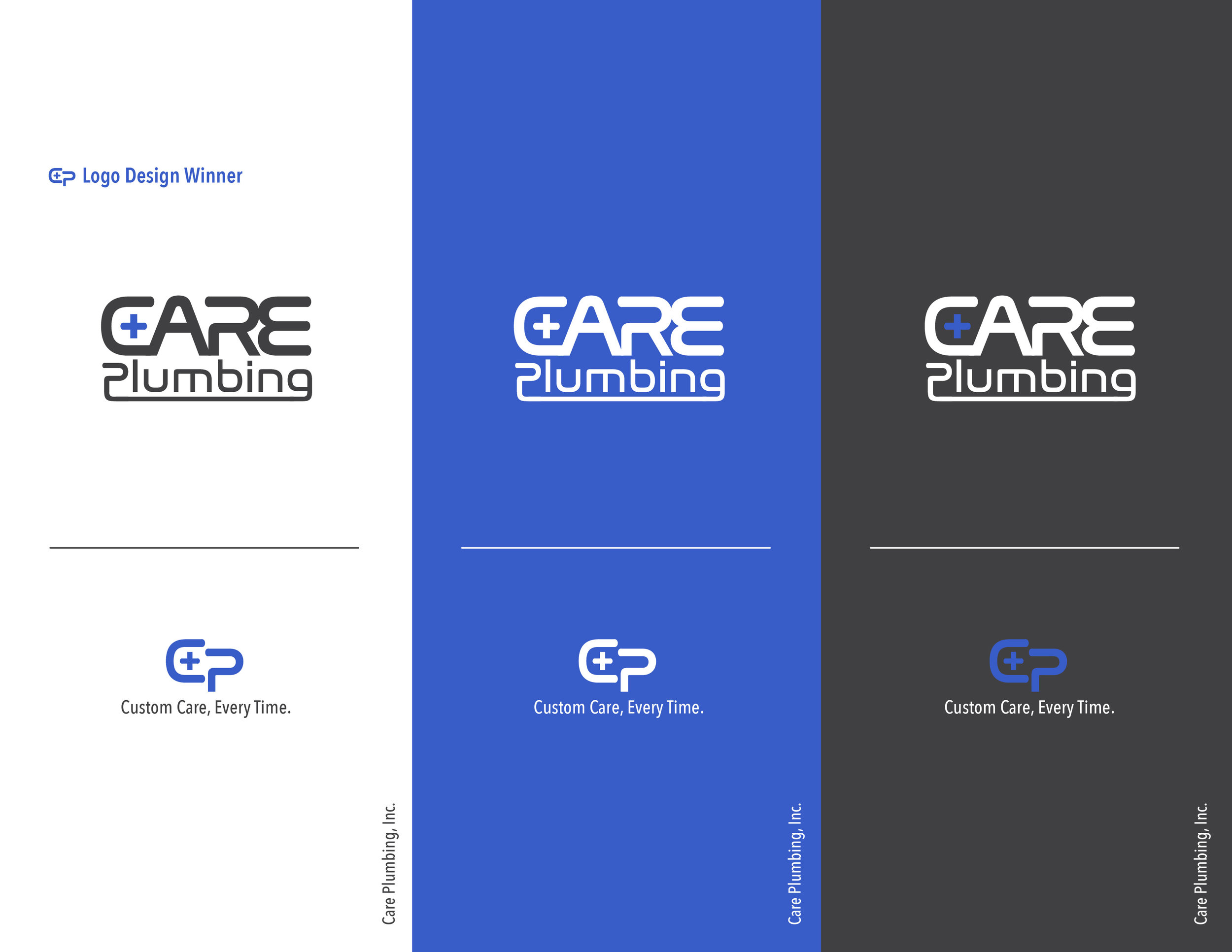 Care Plumbing  - Graphic + Brand Design