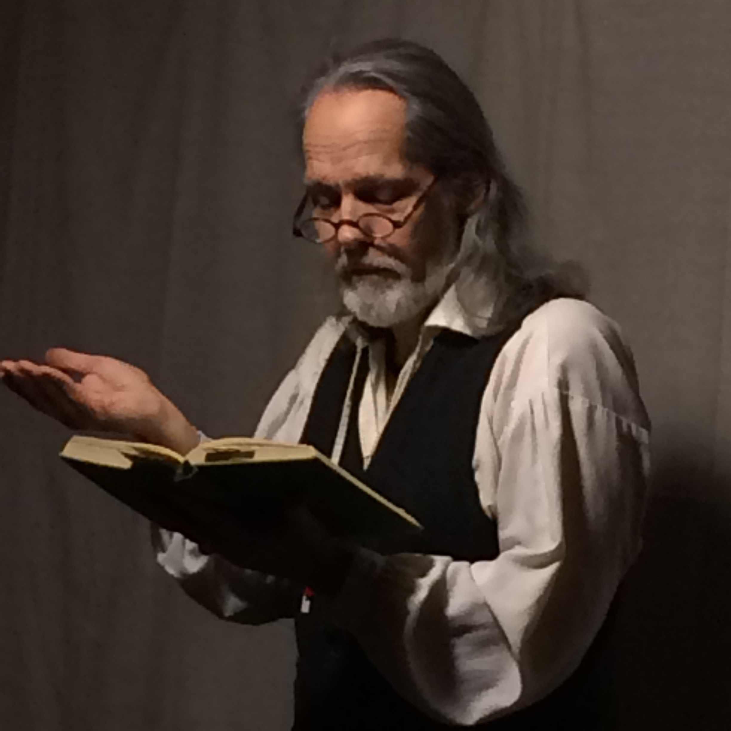 Emiliano Marino reads excerpts from  Men Against the Sea