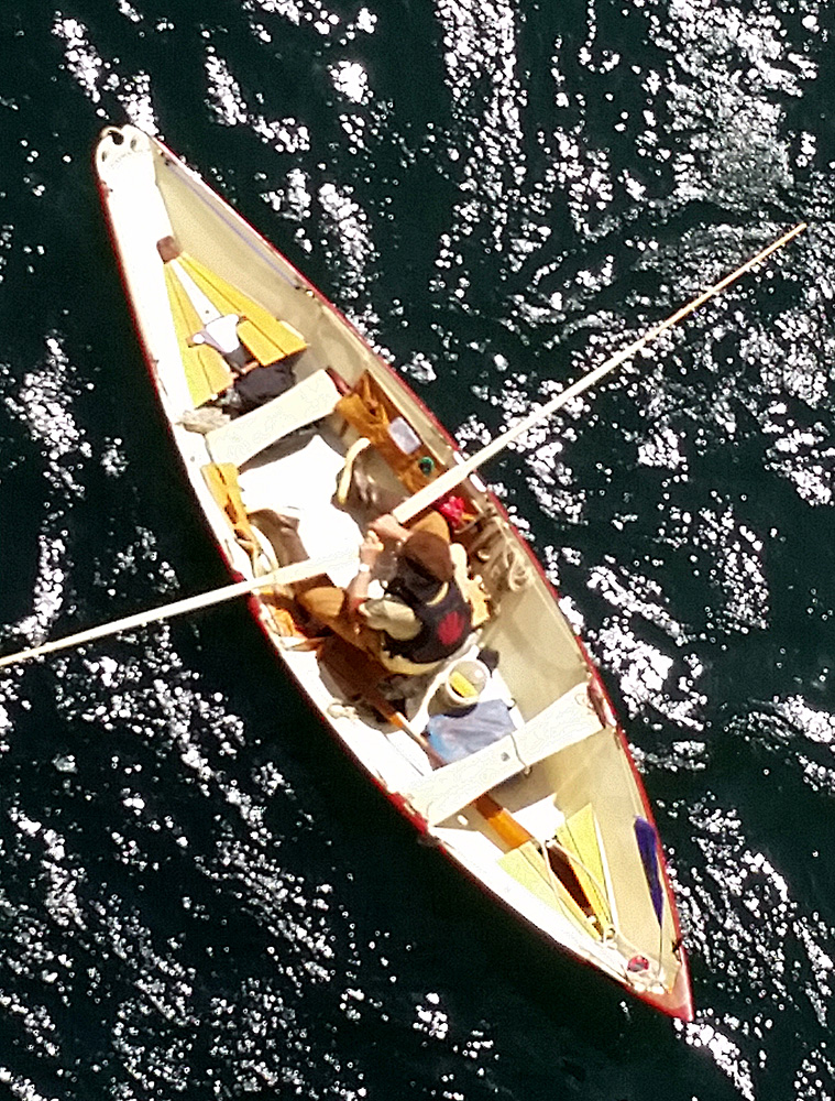 Emiliano Marino in TASWENS from above.