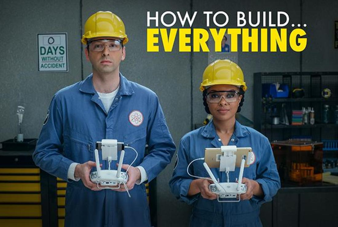 """How To Build Everything"" on Science Channel"