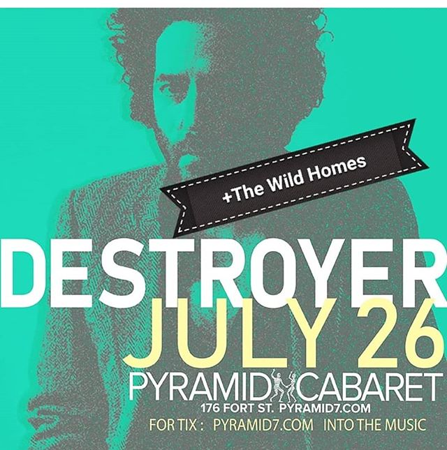 TONIGHT @pyramidcabaret 💜💜 We're on the bill with Pinc Lincolns and the incomparable DESTROYER!😎Unofficial poster by us 🤣 #thewildhomes #indiemusic #winnipeg #synthpop #manitobamusic #winnipegmusic #204 #manitobamusic #wpg #canadianindie #indie #manitoba #canada #synthwave #synthesizer #winnipegmusicians #synth #canadianmusic #supportlocalmusic #cbcmusic #theforks #umfm #umanitoba #uwinnipeg #ckuw #destroyer #danbejar