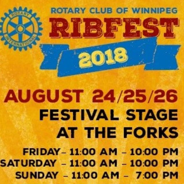 @thewildhomes are hitting the stage 4:30pm today at @ribfestwinnipeg down at @theforkswinnipeg. Come hang with us!