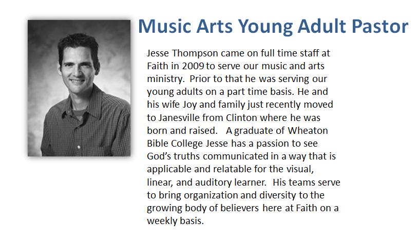 Contact Pastor Jesse