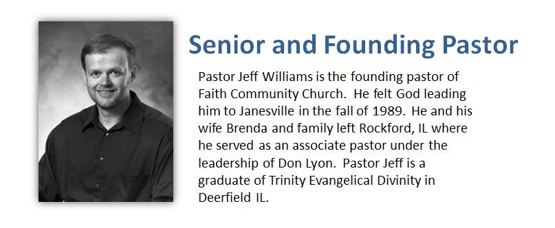 Contact Pastor Jeff