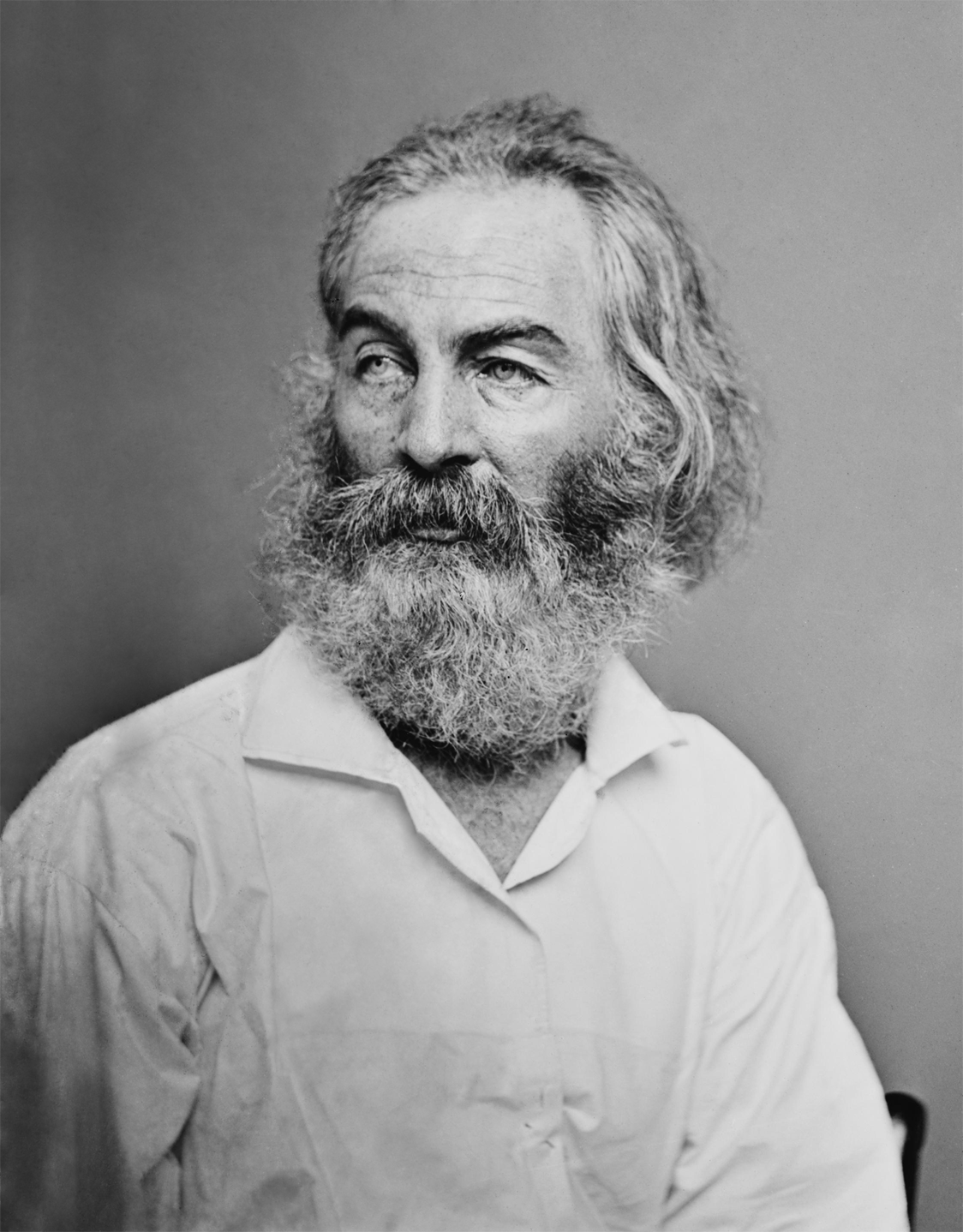 Walt Whitman Portrait