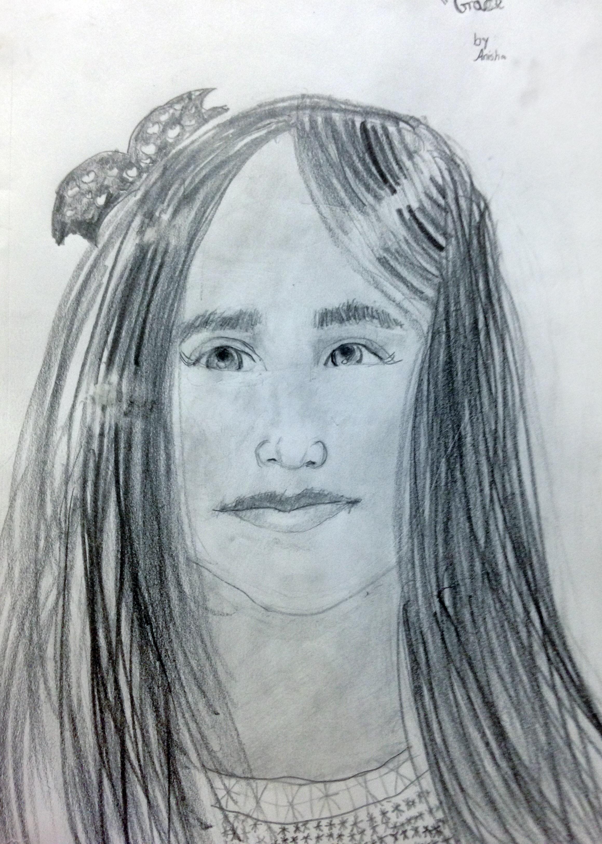 Anisha, second grade