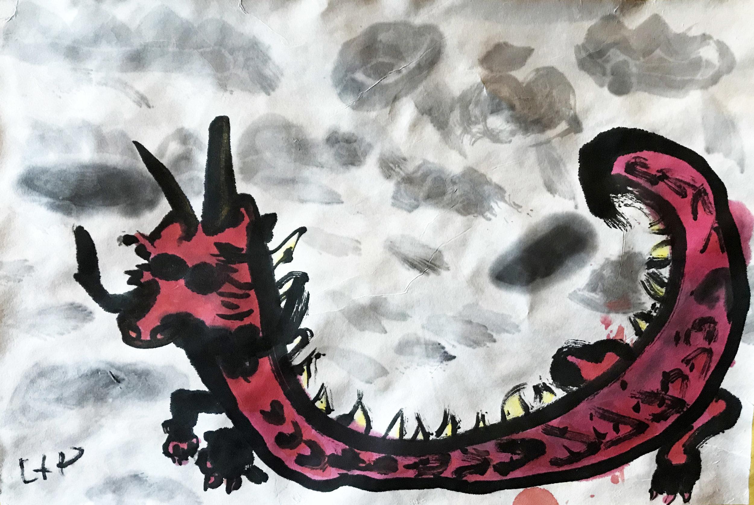 Dragon, by Liam, age 7