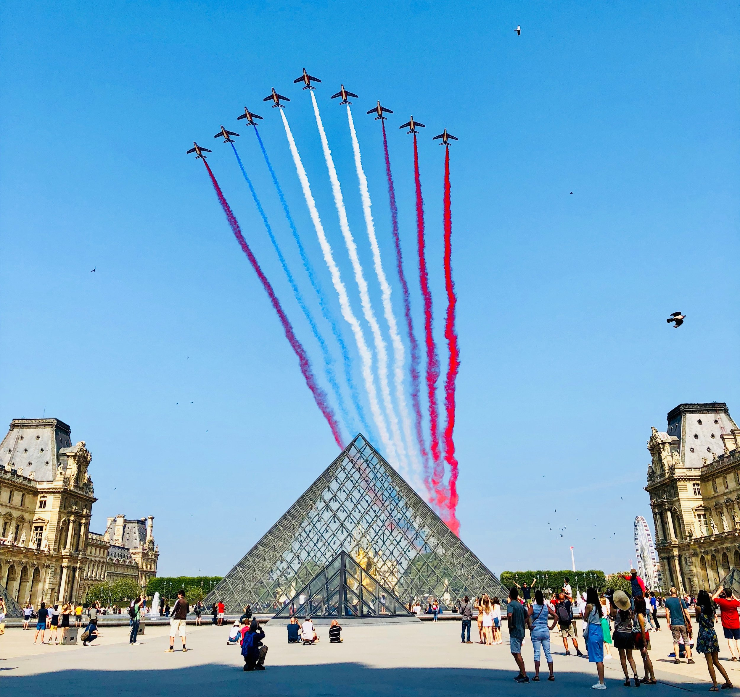 14 Juillet 2018— Bastille Day at the Louvre