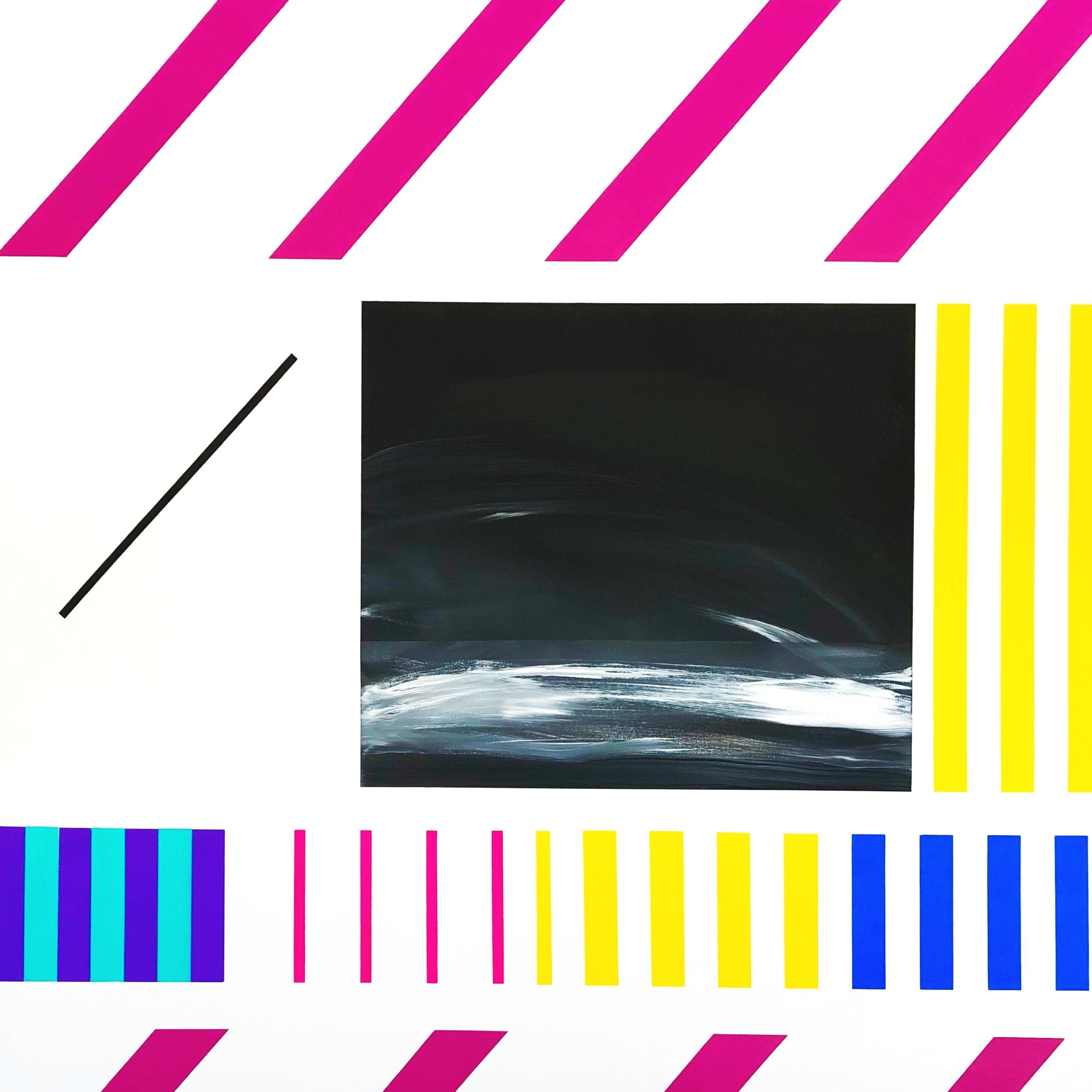 """""""Dreams"""" Acrylic on Canvas, 48""""x48"""", 2019"""