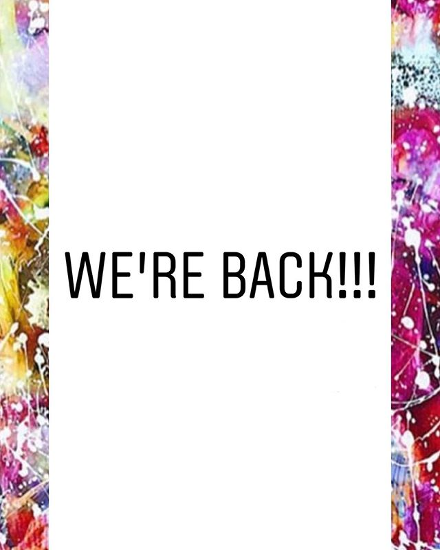 WE'RE BACK!! 🎉🌈 We've been away for a while but we're so happy to announce that we're back and now taking bookings for 2019 and 2020! We have a few dates available for August and September, so please get in touch for availability. We'll be responding to all of your dm's and emails over the next few days. CAN'T WAIT TO SEE YOU! ☀️☀️☀️