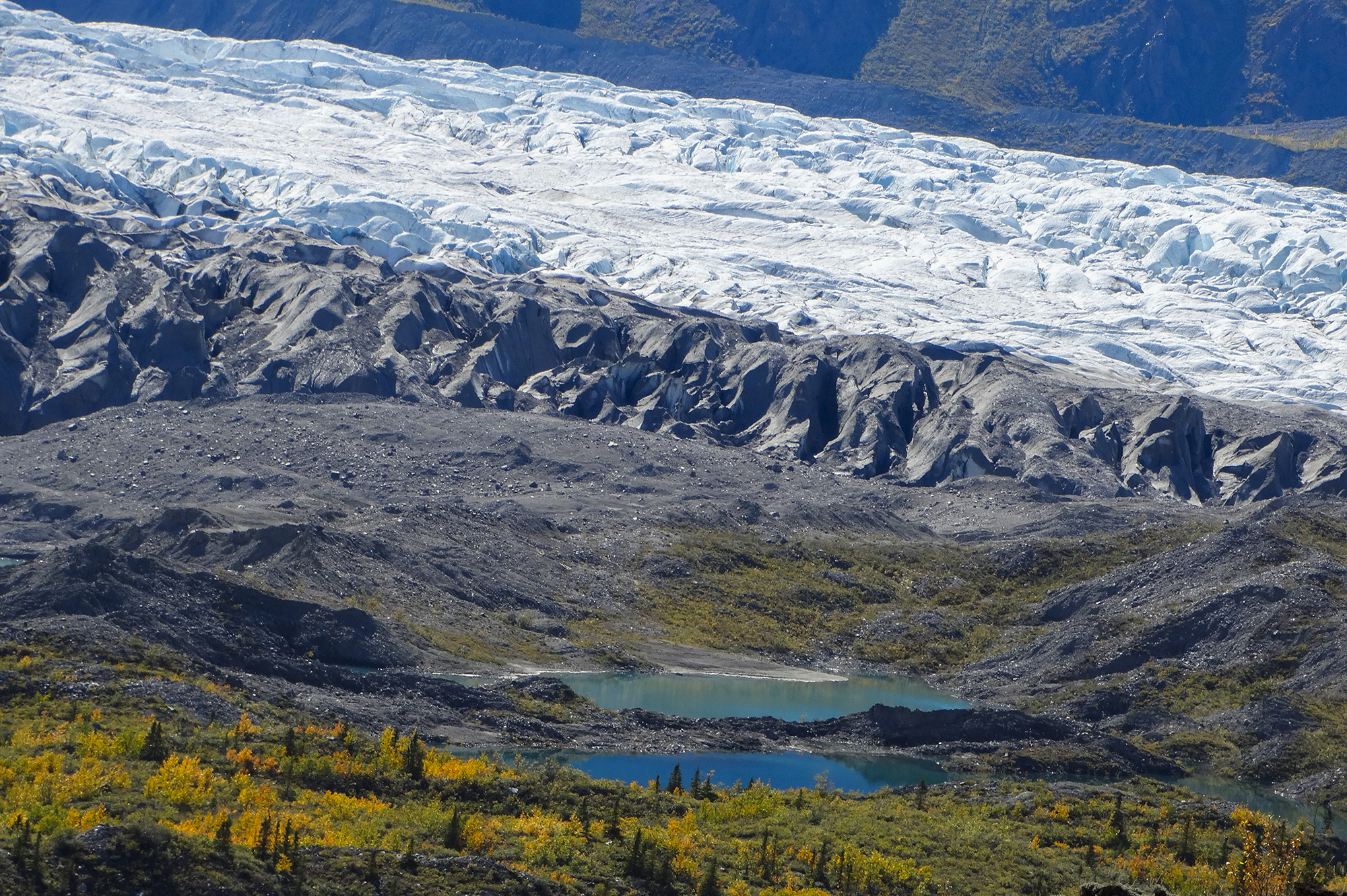 Donjek Glacier, Kluane National Park and Reserve, Yukon Territory, Canada