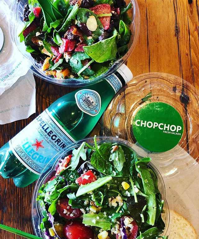 Salads! Ever crave a salad? A good hearty delicious salad 🥗 restaurant is Huntsvilles own, @chopchopfresh !  @chopchopfresh only has one location, here in Huntsville with one on the way later this year across from the new Chuys. 🙌🏻🥗💗 I love to get a new menu item each time I go, but a long time favorite is: 🥣SWEET BOWL ALABAMA 🥣 Sweet Potatoes, shredded kale, wild rice, apples, almonds, local goat cheese and chicken with a balsamic vinaigrette.  My husband loves: 🍓 STRAWBERRY BAE🍓 Strawberries, mint, toasted almonds, bacon, raisins, cucumbers, local goat cheese, baby spinach, lemon poppyseed vinaigrette. Another Favorte: 🌮THE IMPOSSIBLE TACO SALAD🌮  Romaine/spring mix, roasted corn, avocado, tomatoes, cilantro, shredded cabbage, red onion, tortilla strips, Impossible 'meat', chipotle honey vinaigrette. ⭐️ Monday-Saturday 11am-8pm ⭐️You can also build your own ⭐️They offer local tea from @piperandleaf , including P&L jar refills (which I always keep in the car in insulated lunch bags to protect them) . ⚡️Making a salad at home? Vary texture, include fat, carbs and protein for the tastiest bowl.  Add several types of lettuce: romaine, spinach, cabbage and add an herb like mint, cilantro, basil or dill Make your own dressing if you can. Simple ingredients like a vinegar/mustard/garlic dressing or plain green yogurt/cumin/vinegar/spices  TEXTURE: nuts, seeds, cucumber, cabbage, jicama.. FAT: avocado, olive/avocado oil, cheese, bacon  PROTEIN: meat, meat alternative, beans CARBOHYDRATES: fruit, beans, sweet potato, grains