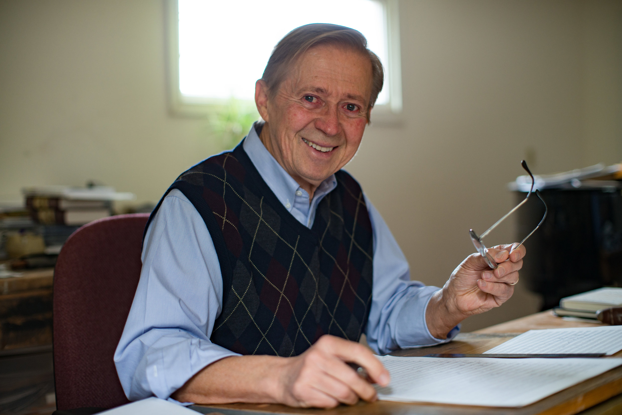 David Maslanka wrote cornerstone works for wind band.
