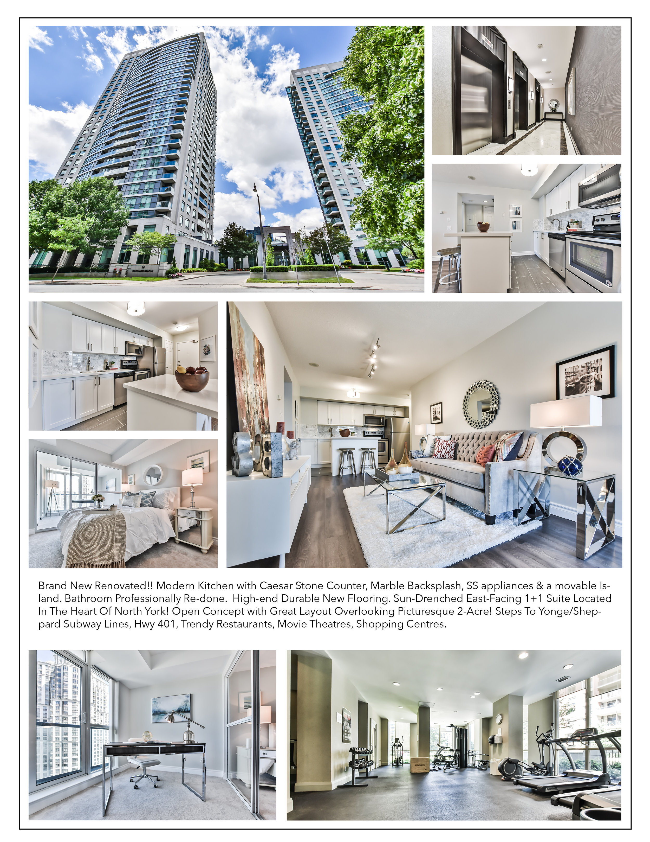 A LA CARTE - 25 copies 4 pages CARD STOCK feature sheets $80Neighbourhood Photos & Video $80Aerial Drone Photos & Video $250Twilight Property Shooting $1003D Matterport + Floor Plan