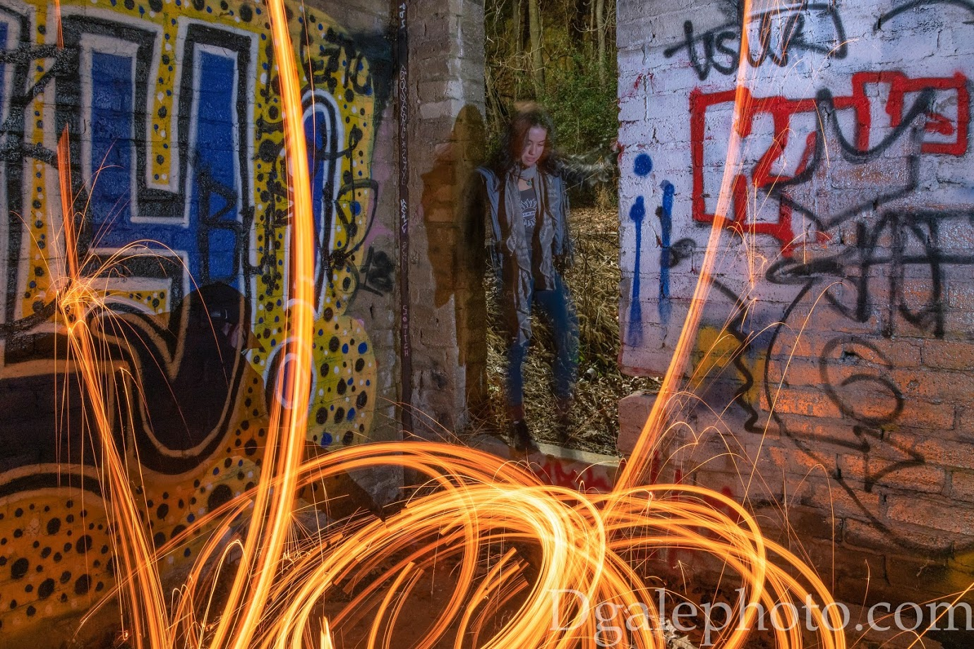Concept Shoots - Abstract, Long Exposure, Light painting