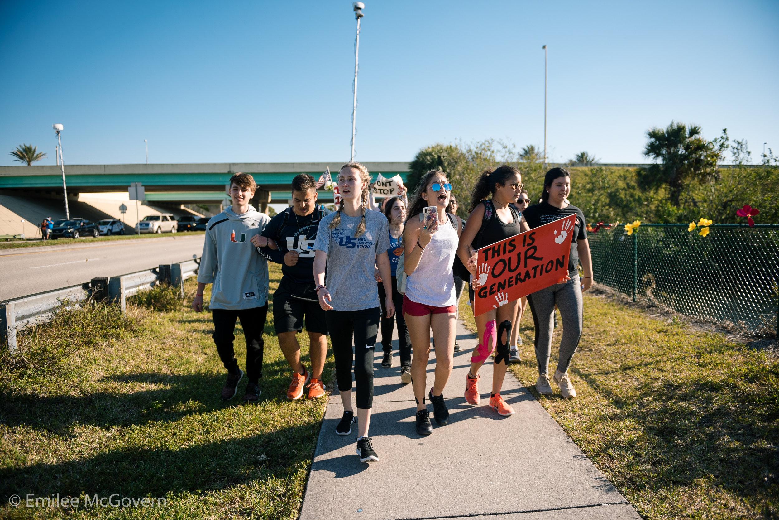 Marjory Stoneman Douglas School Shooting never again enough is enough emma gonzalez david hogg msd national school walkout -118.jpg