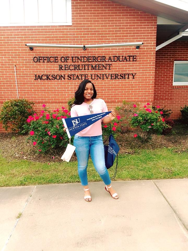 Kaylah at Jackson State