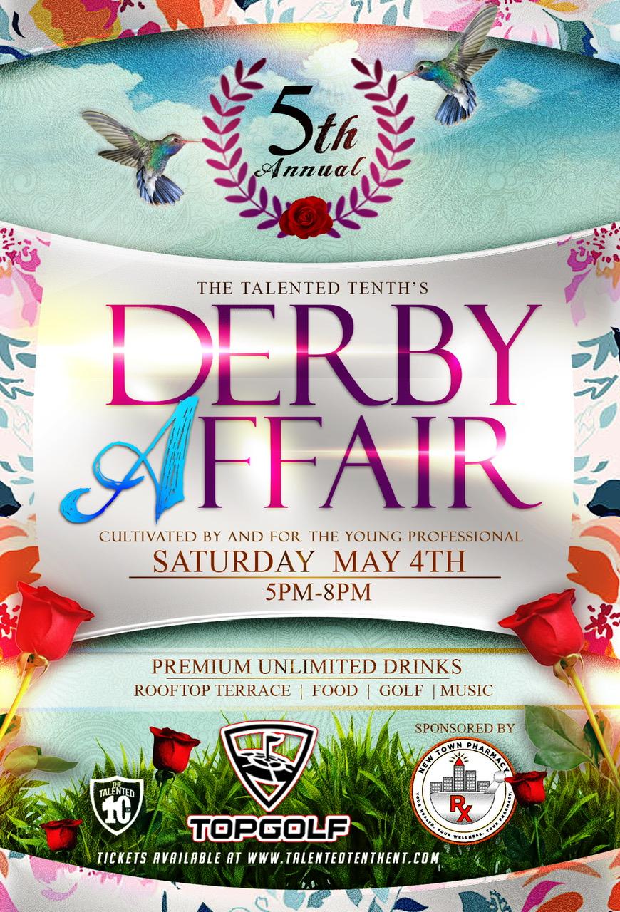 The Derby Affair Flyer