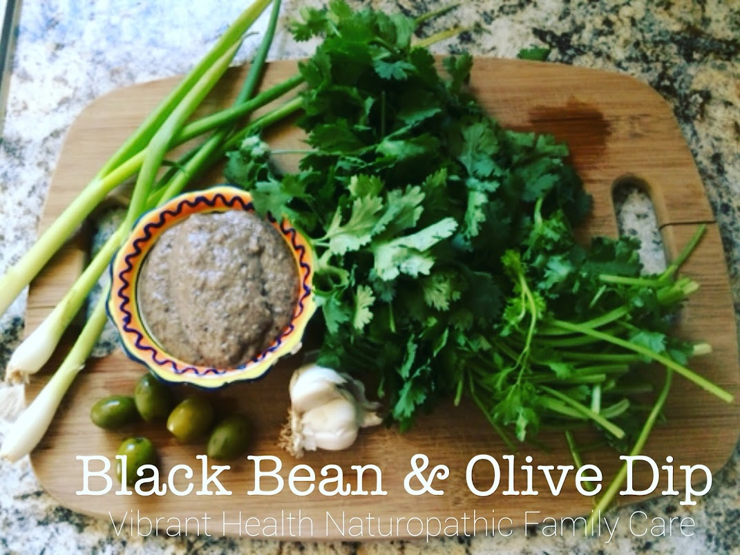 Black bean and olive dip.JPG