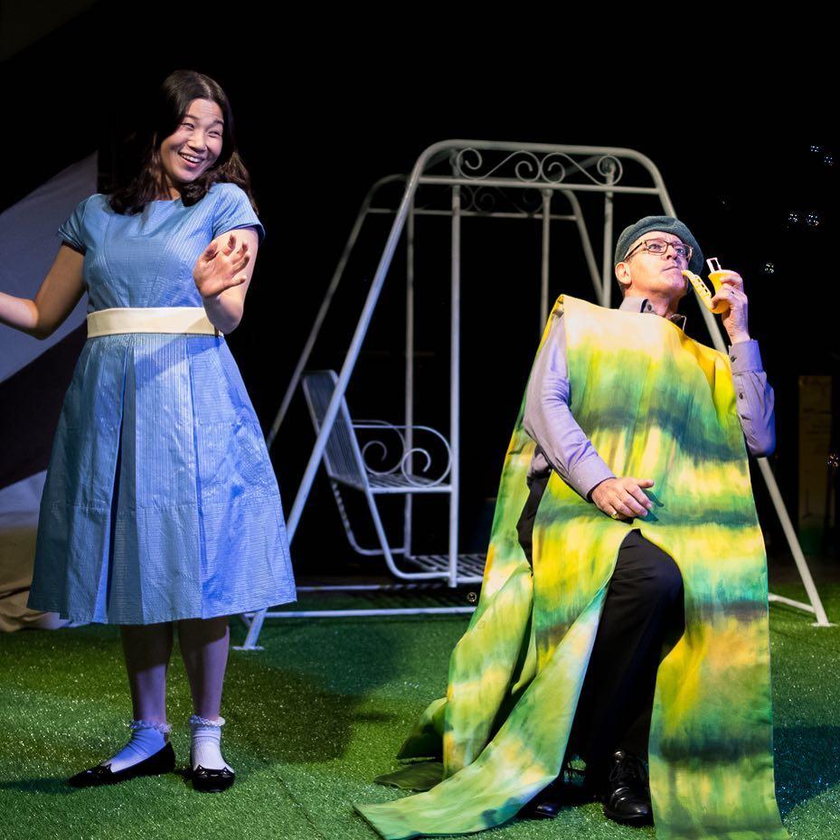 Alice meeting the caterpillar