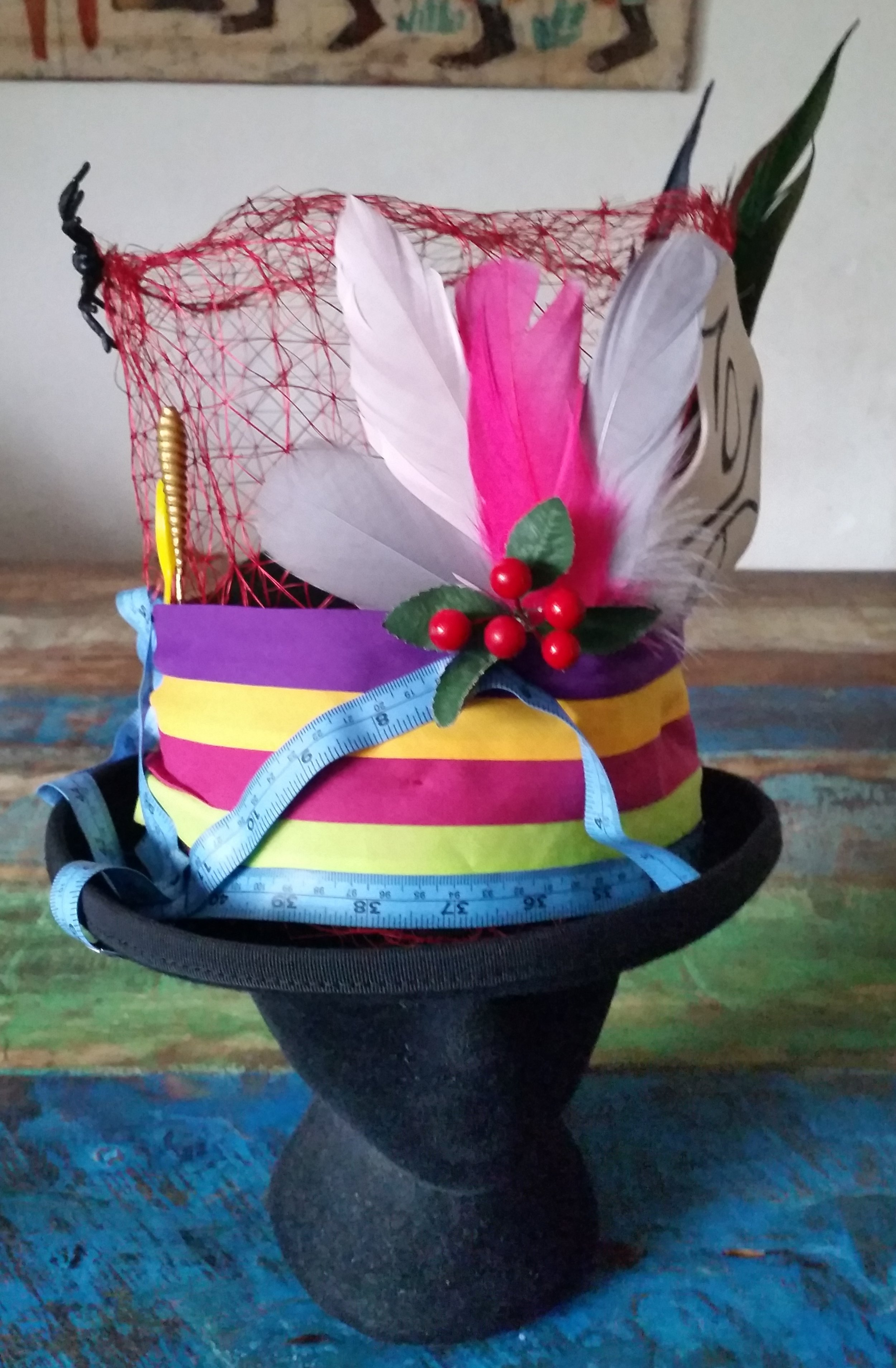 Last minute creation for the Mad Hatter