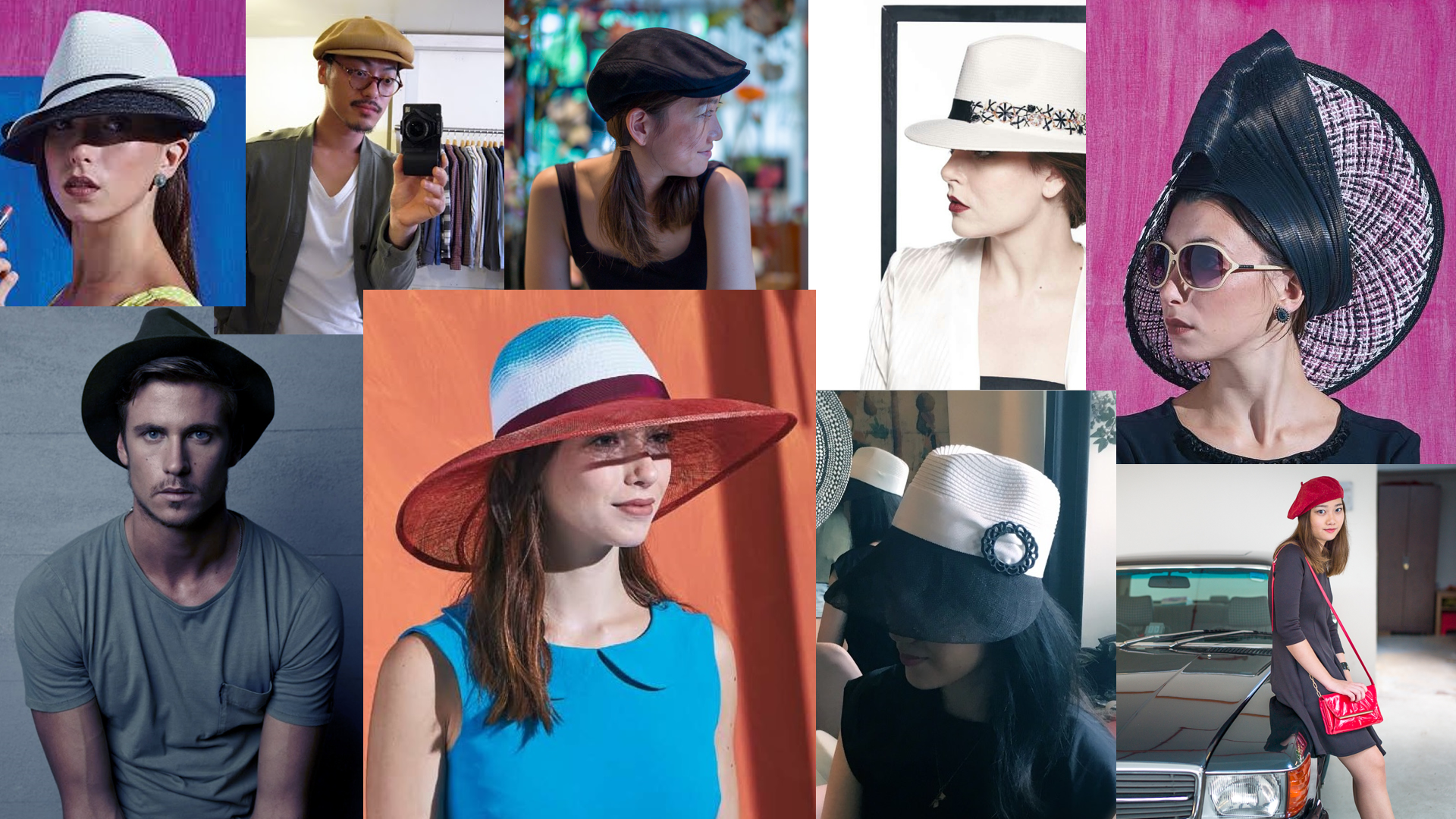 plenty choices men women hats