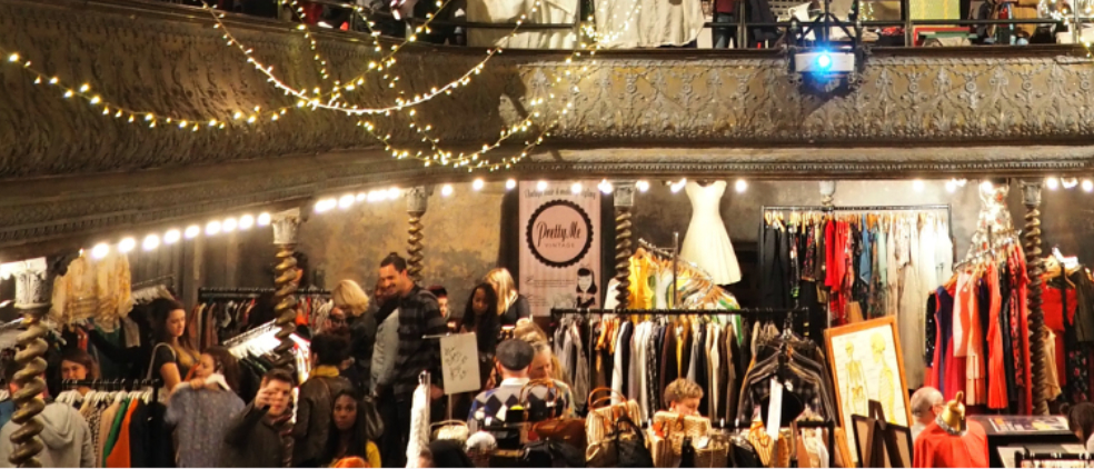 Image courtesy of:  Pop Up Vintage Fairs .