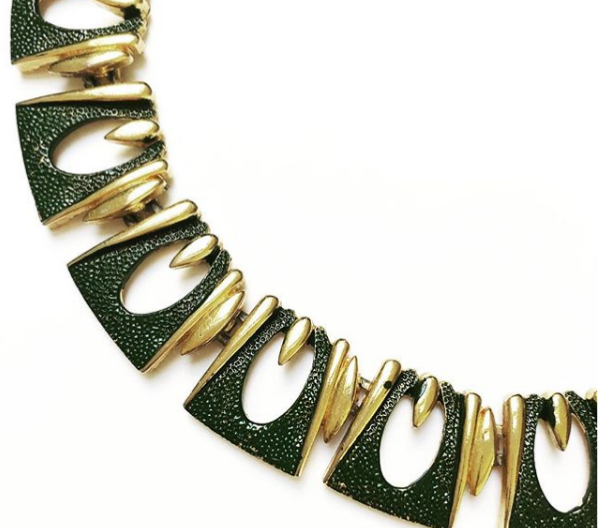 1960s Goldtone Necklet $75.00