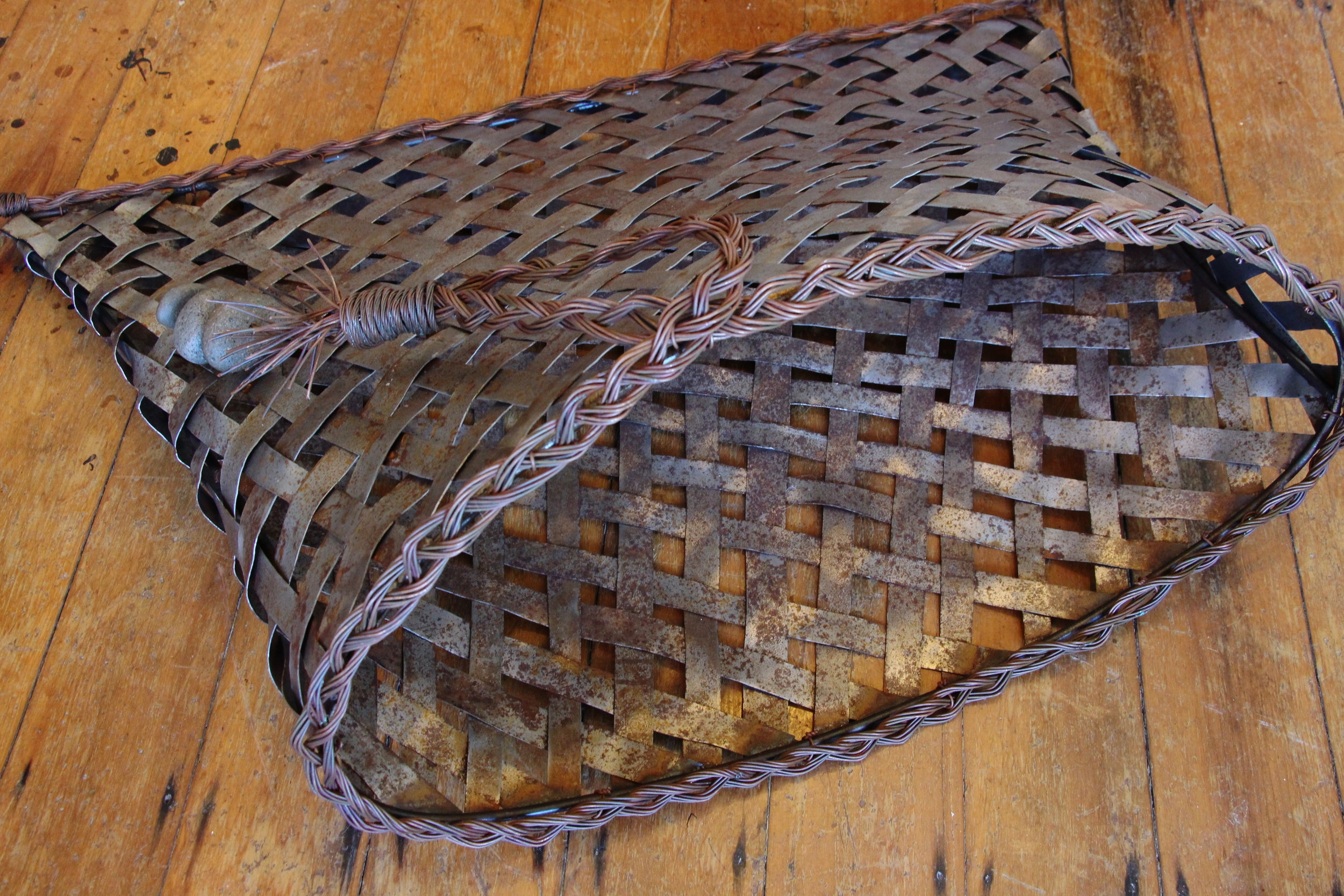 steel and copper kete - sold