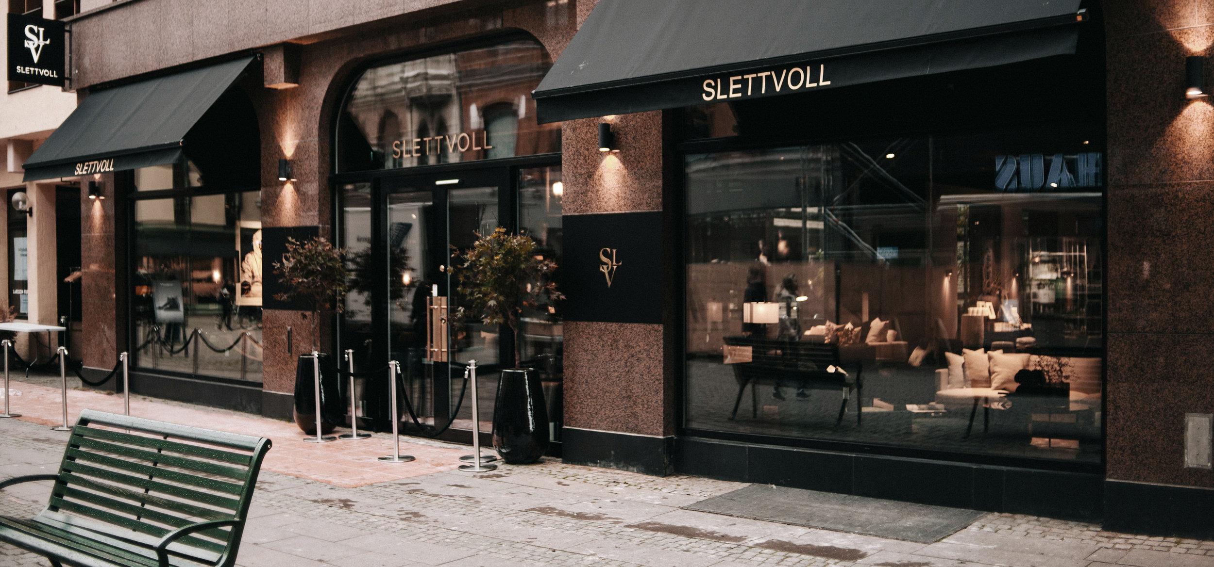 Slettvoll Malmø facade, Scandinavian design done by GARDE architecture & design