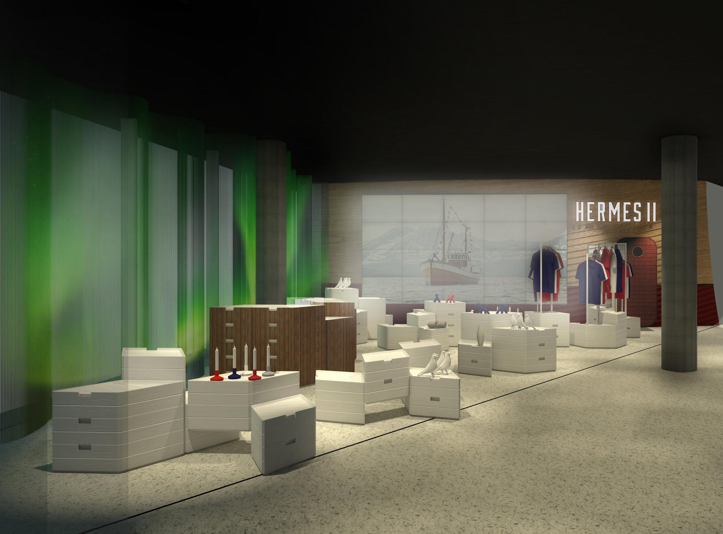 GARDE. Mads Emil Garde Design Shop  Hermes2 Tromsø Norway