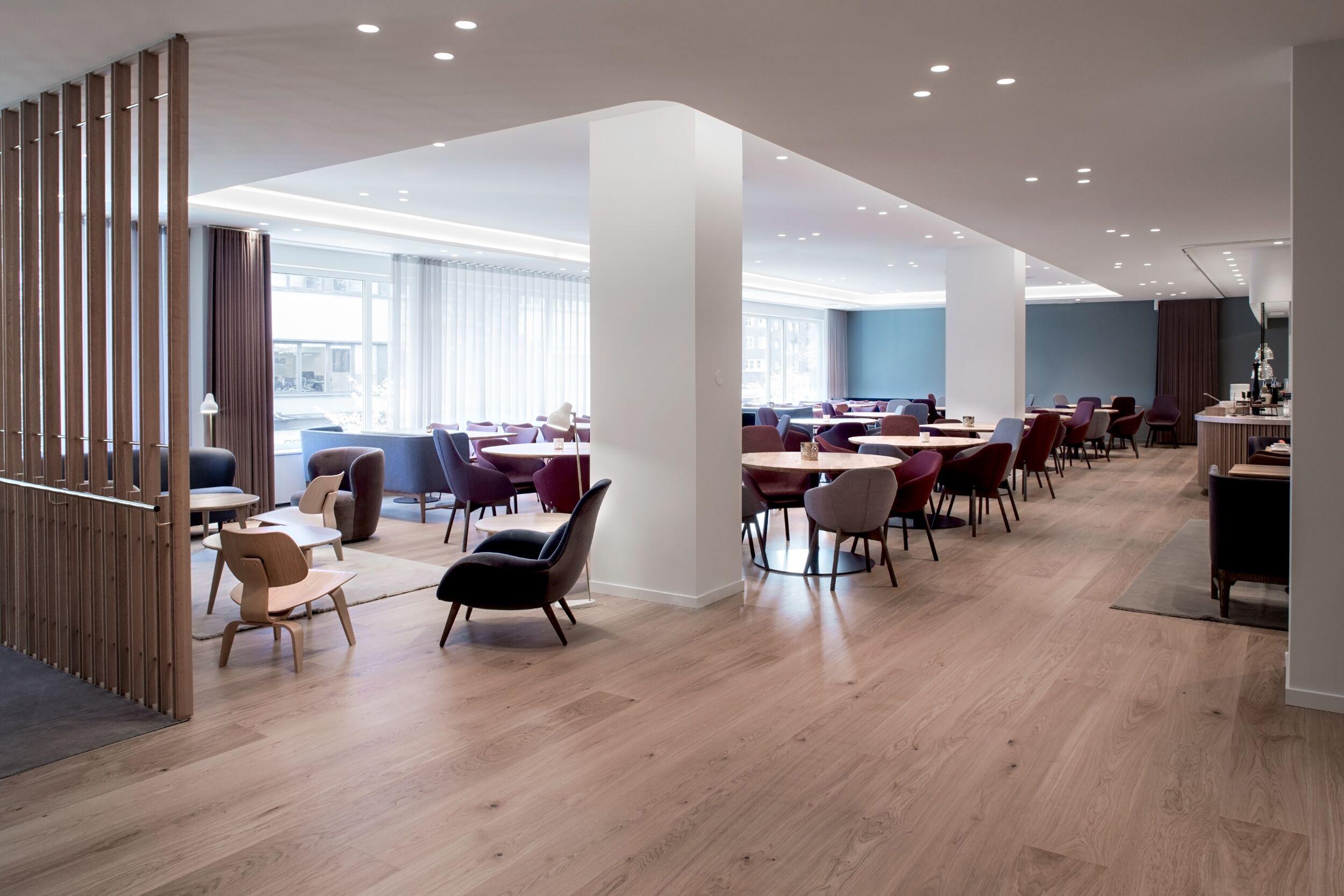 Restaurant Tivander lounge, scandinavian interior design and furniture