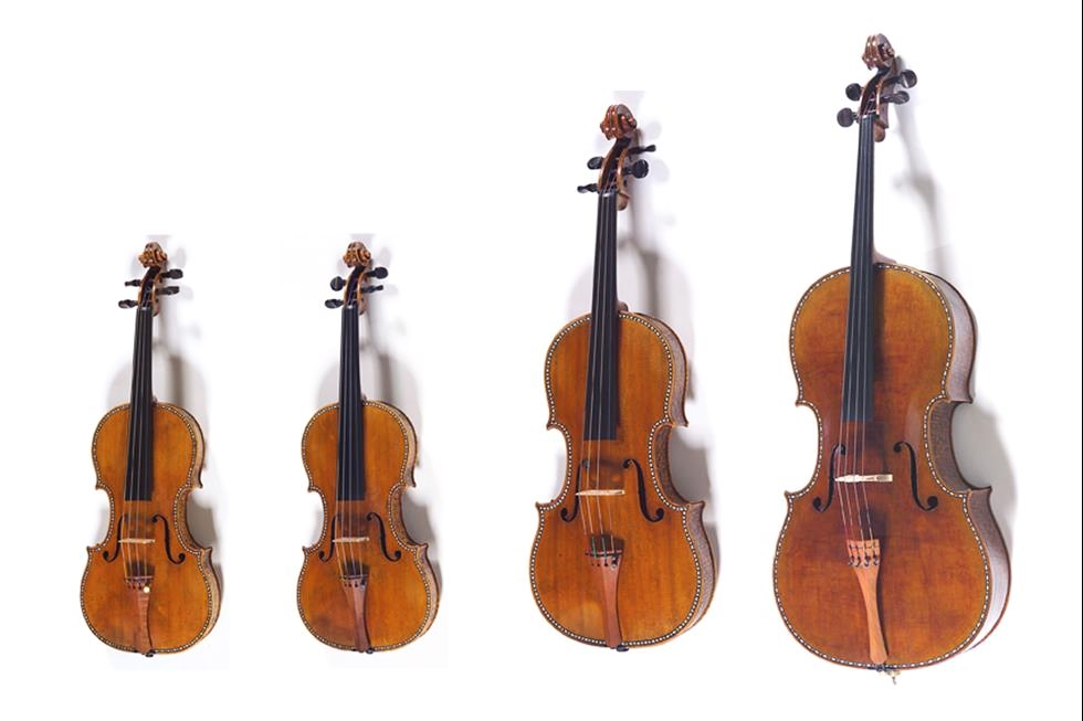Stradivari, Quartetto Intarsiato
