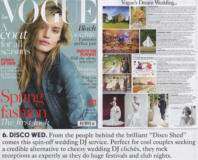 Disco Wed in Vogue Feb 2014.jpg