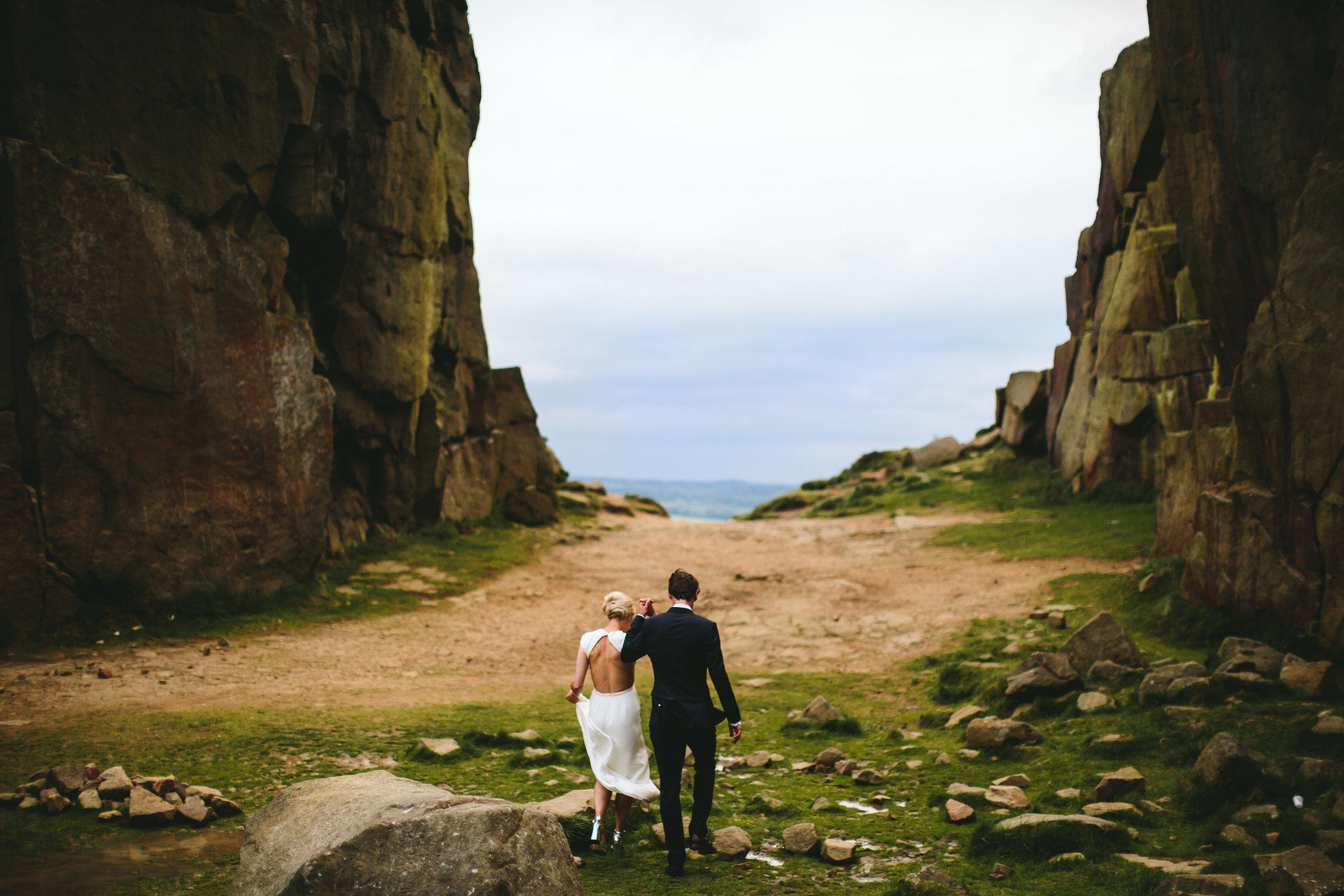 unique alternative wedding photographer