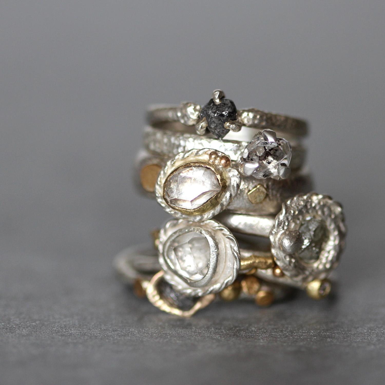Tamara-Gomez-Rough-diamond-herkimer-diamond-rings.jpg