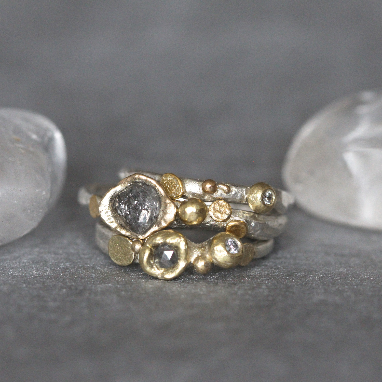 Tamara-Gomez-Rough-diamond-rings.jpg