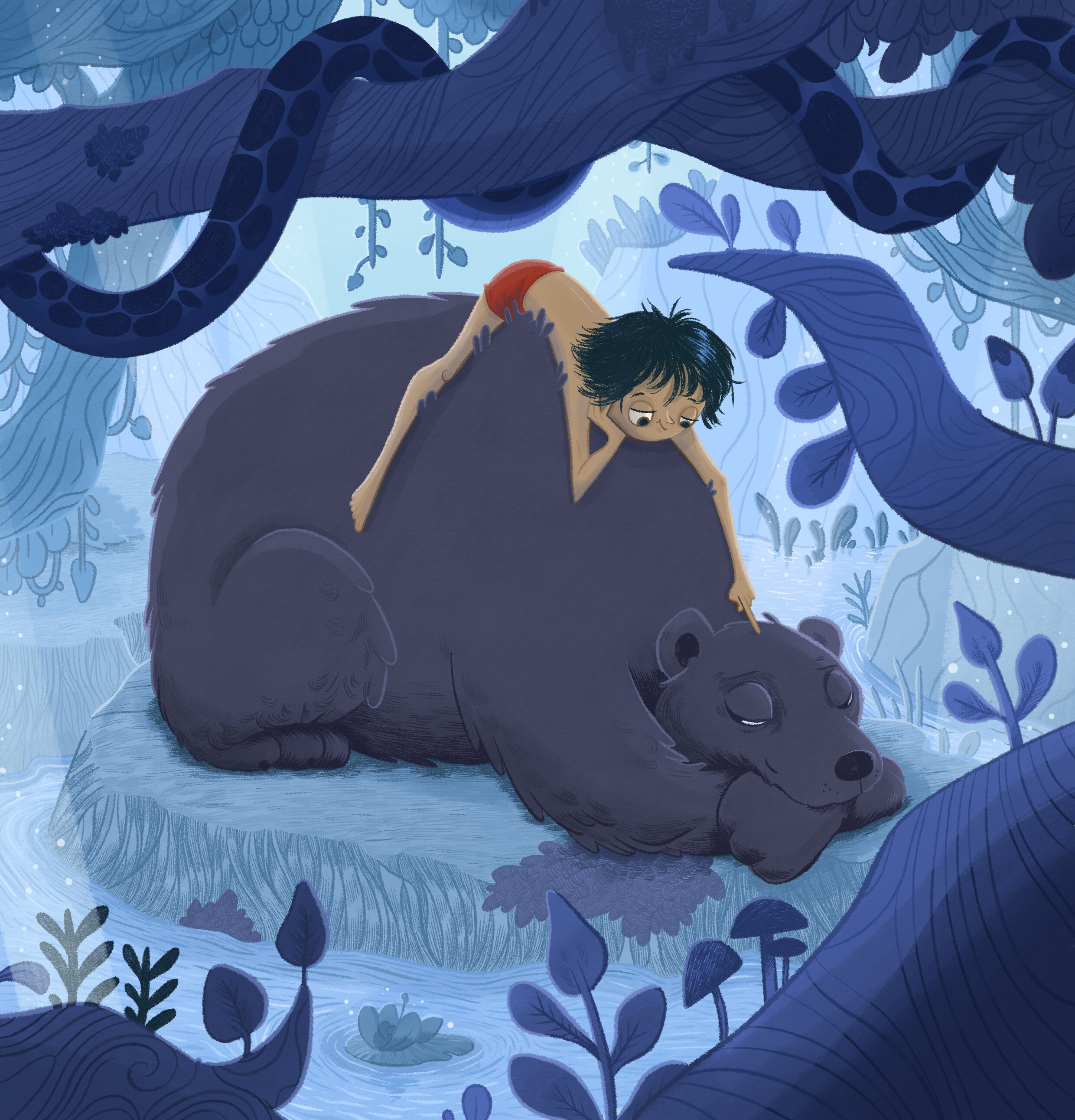 From 'the jungle book' , 2019