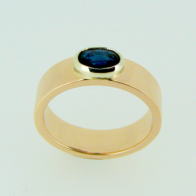 Rose Gold and Sapphire White gold setting.jpg
