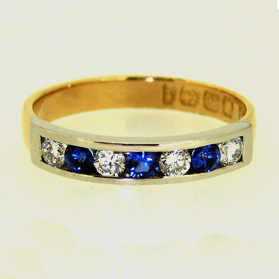 Sapphire and Diamond Channel Set Ring.jpg