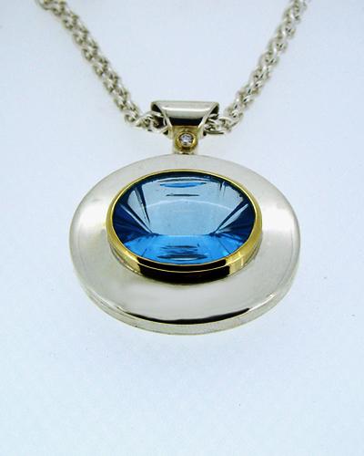 Oval Blue Topaz