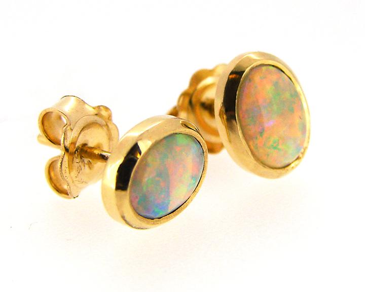 Opal Earrings 18ct Yellow Gold.jpg