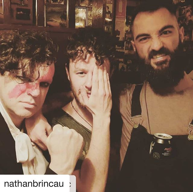 #Repost @nathanbrincau with @get_repost ・・・ Last night at @frankiespizzabytheslice was an absolute blast 🔥🔥 Thanks to the openers @thetintstheband !! @marz_music1 @paulburke_music @cecil_turbine  #sydney #tour #musician #drummer #music #drums #touring #melbourne #snackyboiis #ontheroad #overalls